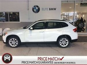 2013 BMW X1 AWD, 53K, WHITE