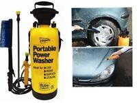 Portable Power Pump Pressure Washer Car Jet Wash £10 as New Boxed