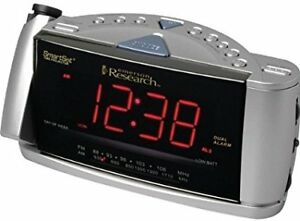 Emerson CKS3516 SmartSet Dual-Alarm Clock Radio with Time Projec