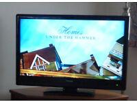 "Toshiba 37"" 1080p LCD Television."