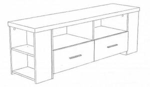 60 inch TV Stand for Sale