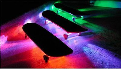 Led Skateboard Lights - quarter pipe mini ramp half vert bowl longboard ART 2015