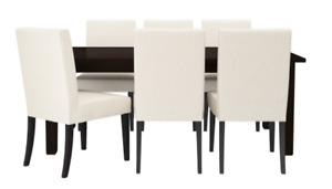 Ikea dining table with 5 chairs