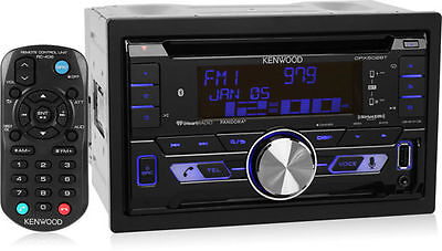 Kenwood DPX502BT Double DIN Bluetooth SiriusXM Ready Car
