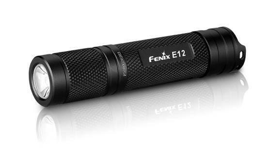 Fenix 130 Lumen E Series Flashlight Black E12