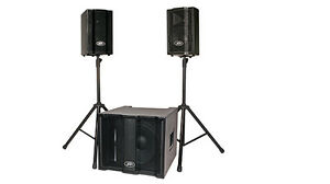 PEAVEY TRIFLEX II (1000w PA SYSTEM WITH SUBWOOFER)