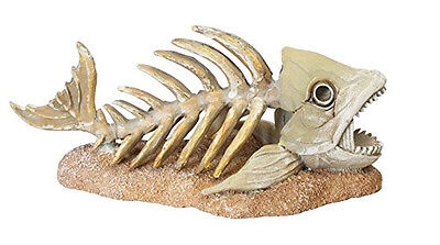 Penn Plax Zombie Fish Aquarium Ornament