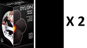 2 teinture textiles noir dylon tissu vetement coton lin viscose ebay - Teinture textile kaki ...