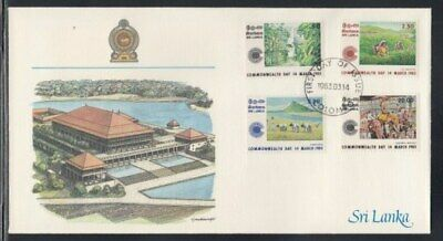 SRI LANKA Commonwealth Day FIRST DAY COVER