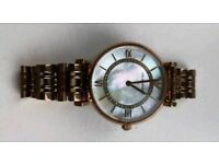 Emporio Armani Rose Gold Ladies Watch