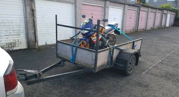 8x4 trailer. Quad/motocross trailer