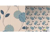 3 ROLLS OF GRAHAM & BROWN'S SUPERFRESCO PIPPA WALLPAPER - FLORAL DESIGN - FEATURE WALL