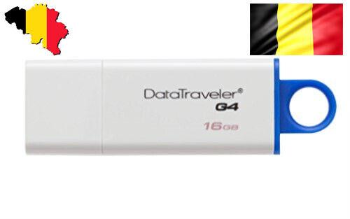 Kingston Data Traveler G4 USB 3.0 Memory Stick Flash Pen Thumb Drive Disk 16 gb