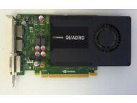 nvidia k2000 graphics card