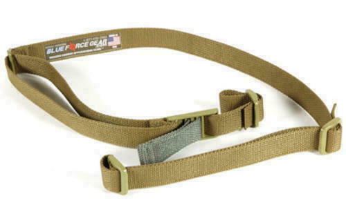 """Blue Force Gear Vickers 2-Point 1.25"""" Rifle Sling Coyote Brown VCAS-125-OA-CB"""