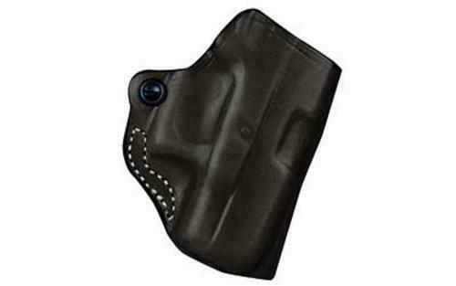 DeSantis 019BAX7Z0 019 Mini Scabbard Belt Holster RH Black S&W Shield Leather