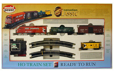 HO TRAINS CANADIAN PACIFIC F3 A CLASSIC TRAIN SET 1029 CP TRAIN SET
