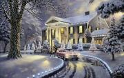 Thomas Kinkade Christmas Prints