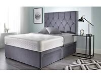 🌞🌞 Premium Quality Plush Steel Divan on Clearance for limited time 🌞🌞🌞