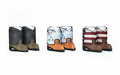 Cowboy Boot Beer Can Coozie 6-Pack - Beer Can Sleeve and Insulator - Beer Can