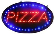 Neon Pizza Sign