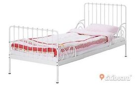 Childs bed kids bed Ikea minnen extending bed frame and base