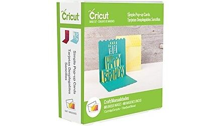 Cricut Image Craft Cartridge - Simple Pop Up Cards - 2002698 -NEW!!