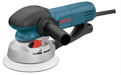 "Bosch 1250DEVS NEW 6"" Dual-Mode Random Orbit Electric Sander-Polisher W/Warranty"