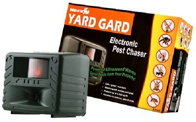 6 BIRD-X  YG Yard Gard Guard Electronic Motion Activated Pest Chaser / Repellers