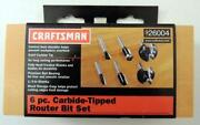 Craftsman Router Bit Set
