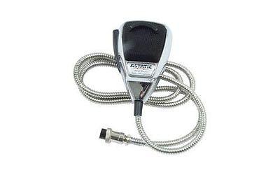 ASTATIC Chrome CB Ham Radio Microphone 636 LC DX-1 mic AUTHORIZED Astatic (Astatic Cb Radio)