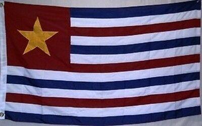 Republic of Louisiana NYLON Flag 3x5 ft Secession 1861 1865 State Stripes Star Nylon Louisiana State Flag