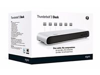 Elgato Thunderbolt™ 3 Dock with 50 cm Thunderbolt cable, 40Gb/s, 85W MacBook Pro charging