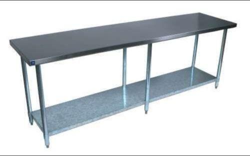... table or overhanging kitchen counter to do a lot of the prep work
