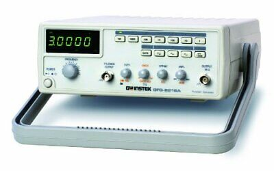 Gw Instek Gfg-8216a Function Generator With 6 Digit Led Display Frequency Cou...