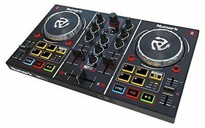 Numark Party Mix 2 Kanal Plug und Play DJ Controller für Serato DJ Lite LED