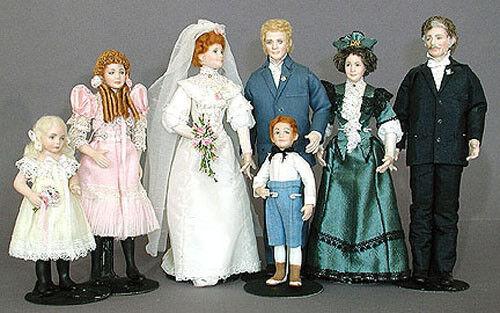 "Miniature Doll mold ""John"" by Doreen Sinnett"