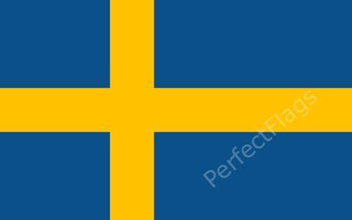 SWEDEN FLAG - SWEDISH NATIONAL FLAGS - Hand, 3x2, 5x3, 8x5 Feet