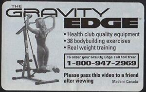 Exerciseur Gravity Edge
