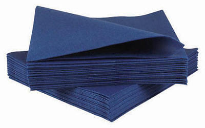 Airlaid Napkins 40cm Dark Blue - Pack of 50
