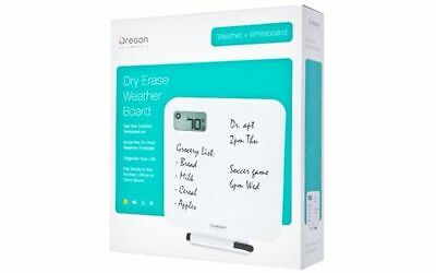 New with Box for Sales -  Oregon Scientific Dry Erase Weather Board