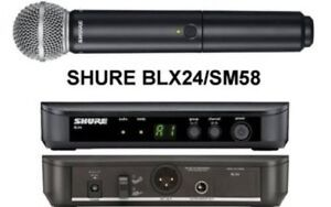 Shure blx24/sm58 package