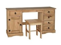 set of Corona dressing table + wardrobe +chest of drawers