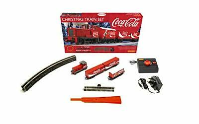 Hobbies The Coca-Cola Christmas Electric Model Train Set HO Track with Remote C