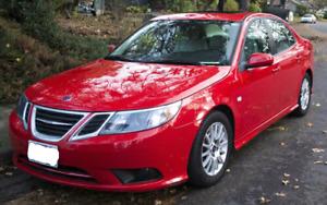 2008 Saab 9-3 Red