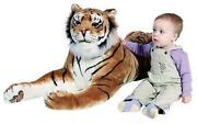 Giant Stuffed Tiger