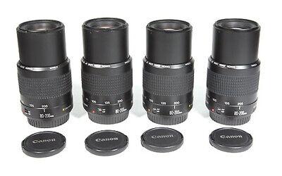 CANON EF 80-200mm II Lens for EOS SL3 77D T7 T6i T7i 70D 80D 7D 6D 5D III IV etc