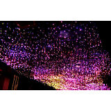 50 strands 1mm ps fiber optic cable transmit colorfull light for lighting decors