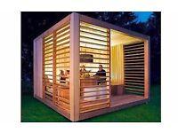 Garden Office. Japanese inspired. Bespoke and Hand Built.