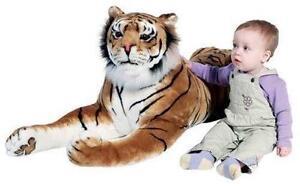 Giant Stuffed Tiger